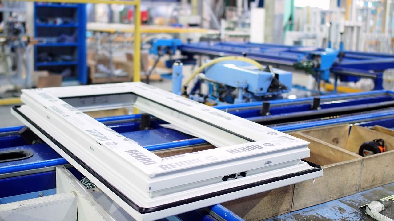 Цех по производству пластиковых окон