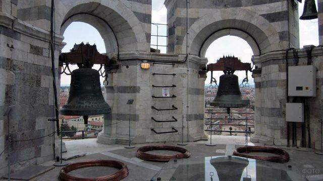 Колокола в звоннице Пизанской башни