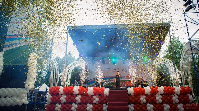 Праздничный концерт в День железнодорожника в Ярославле