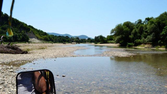 Джипинг по речке Джубге