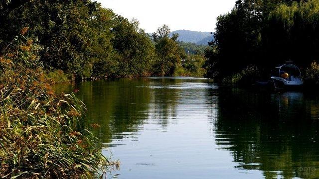 Зелёные берега реки Джубги