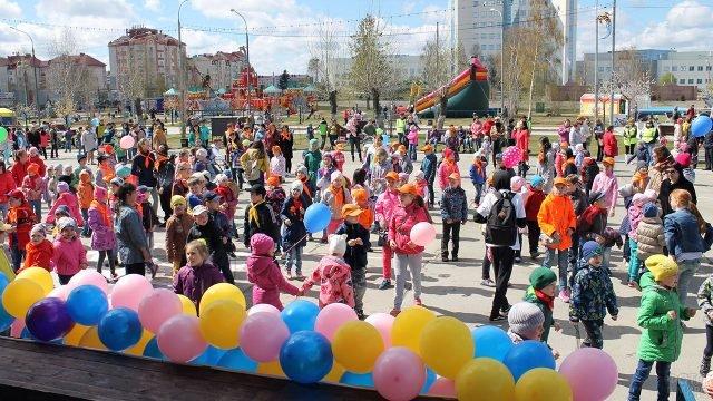 День защиты детей в в Ханты-Мансийском автономном округе