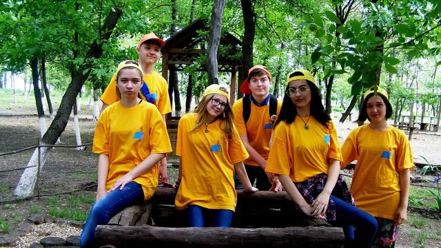 Юные туристы в День защиты детей в Краснодарском крае