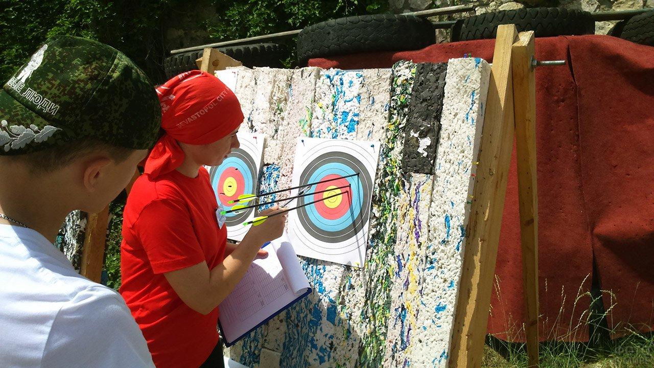 Конкурс по стрельбе из лука в День защиты детей в Кисловодске