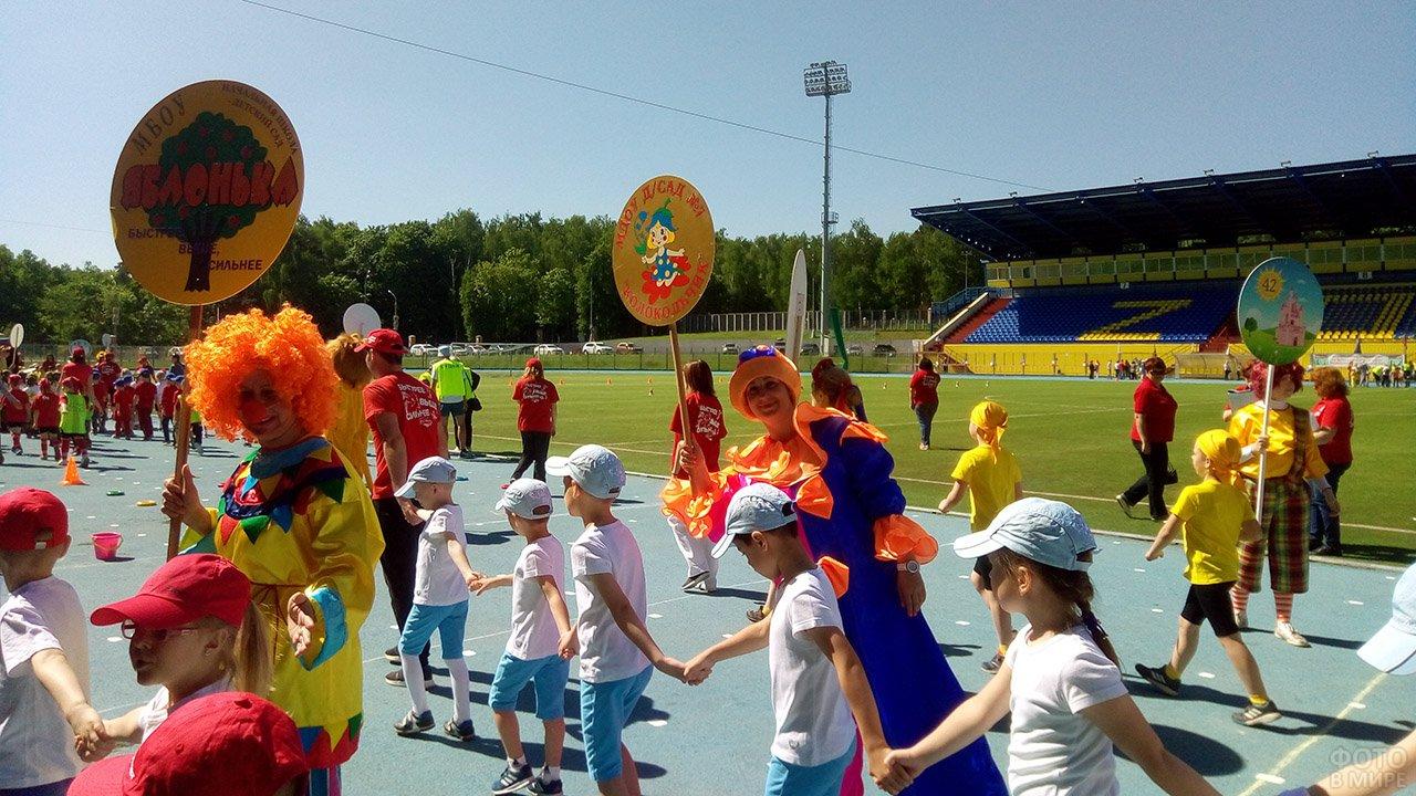 Олимпиада дошкольников в День защиты детей в Подмосковье