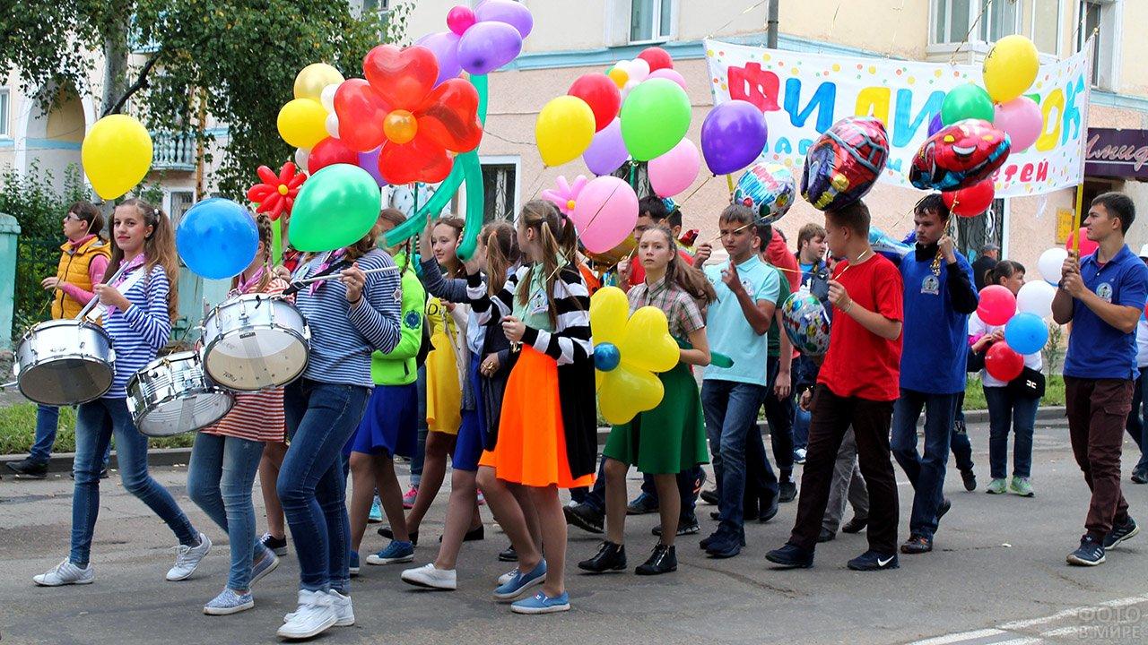 Парад-карнавал в День защиты детей в Хабаровском крае