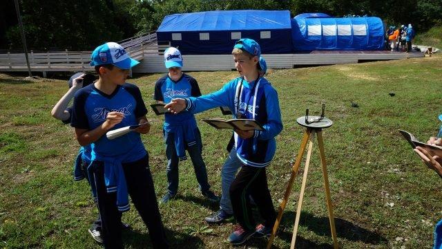 Соревнования по спортивному ориентированию от Русского географического общества