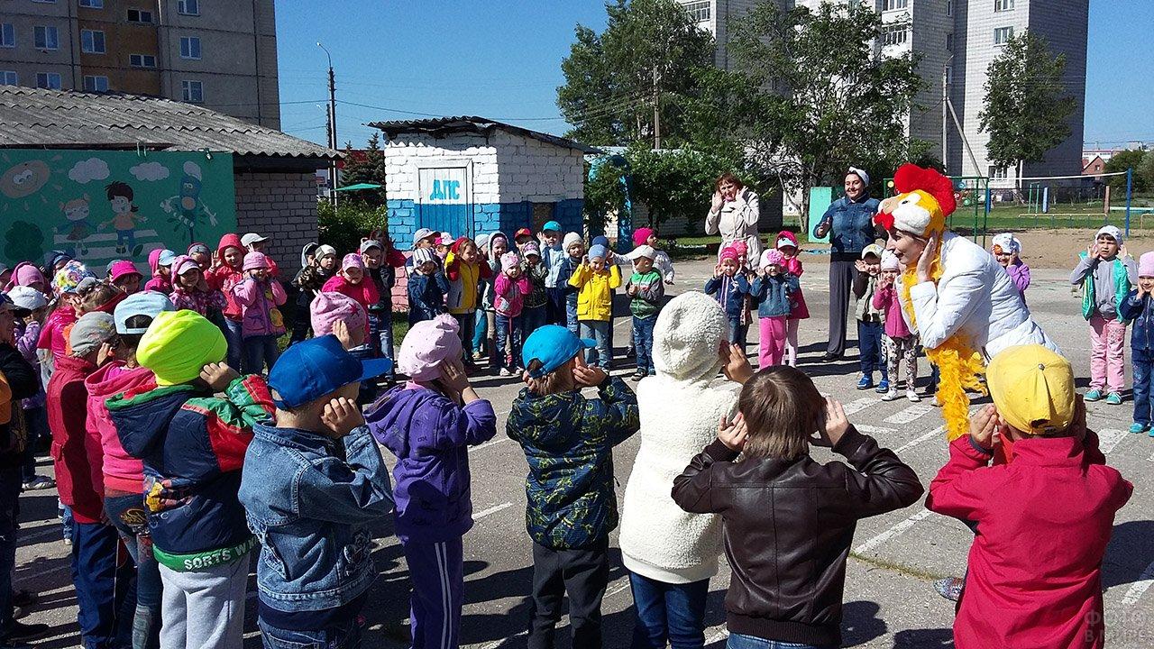 Утренник в честь Дня защиты детей в детском саду в Ульяновской области