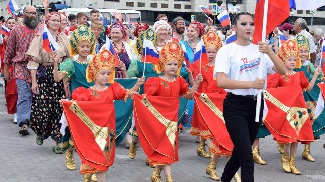 Парад Дружбы народов 12 июня на Алтае