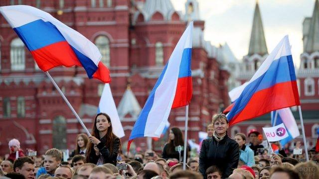 Празднование 12 июня на Красной площади