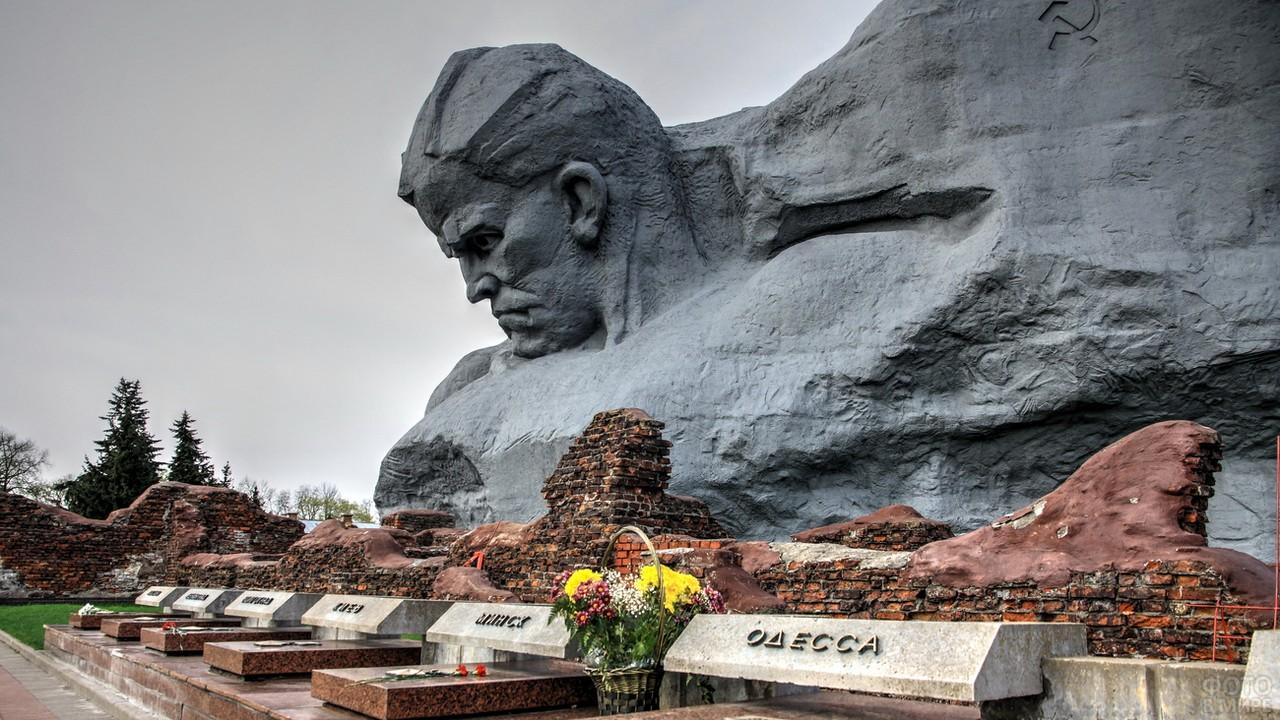 Мемориал Мужество в Брестской крепости