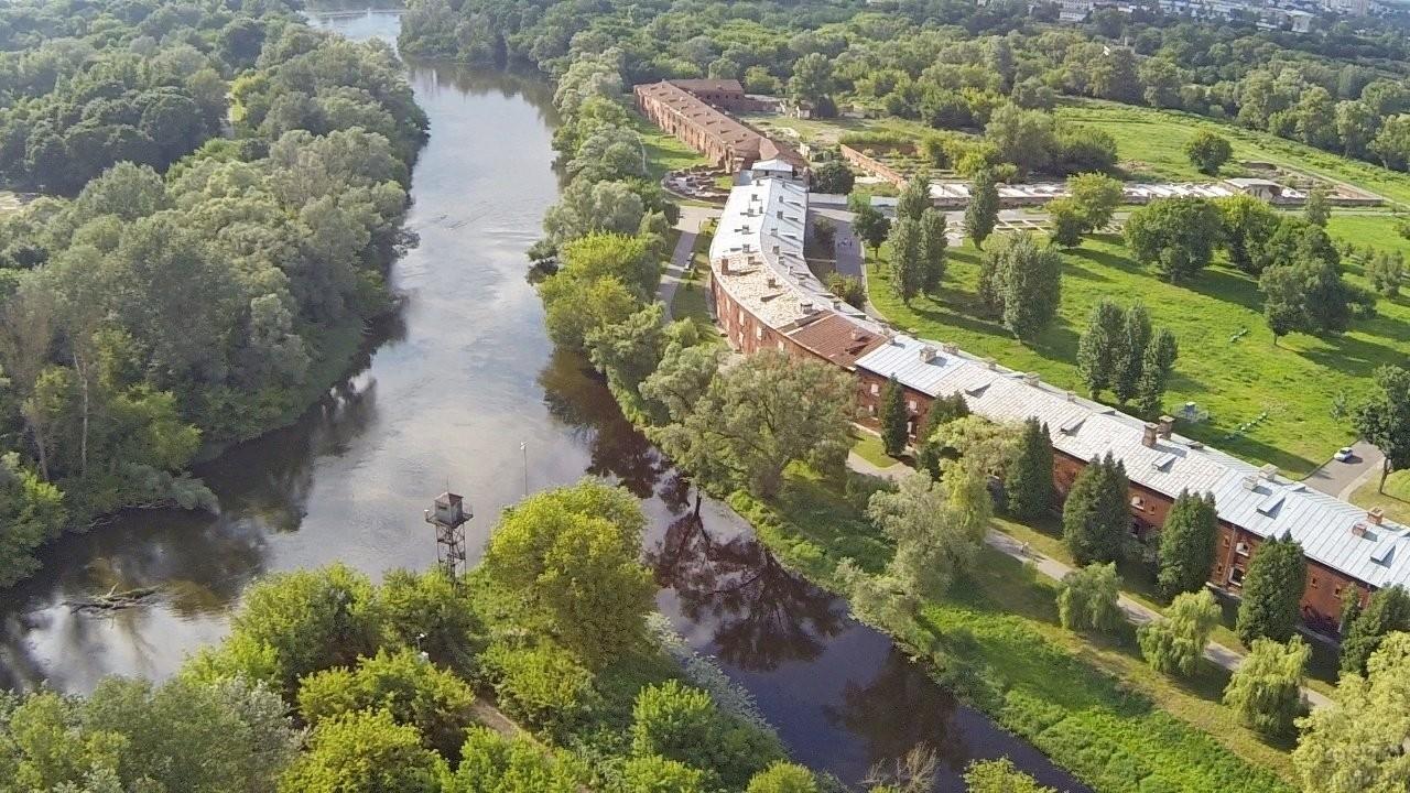 Река Буг в Брестской крепости