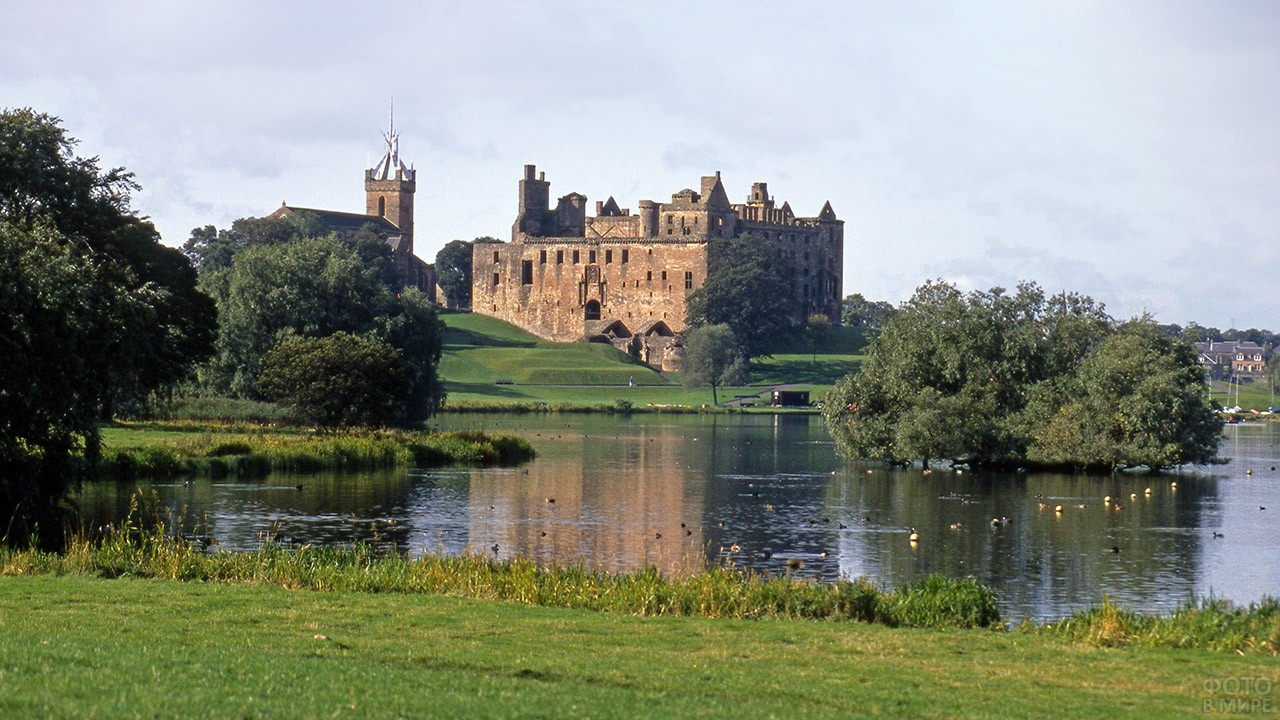 Дворец Линлитгоу в Шотландии