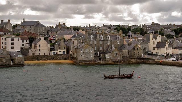 Самый северный город Шотландии - Леруик