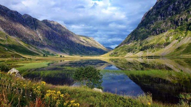 Весна в Долине слёз - Гленко - в Шотландии