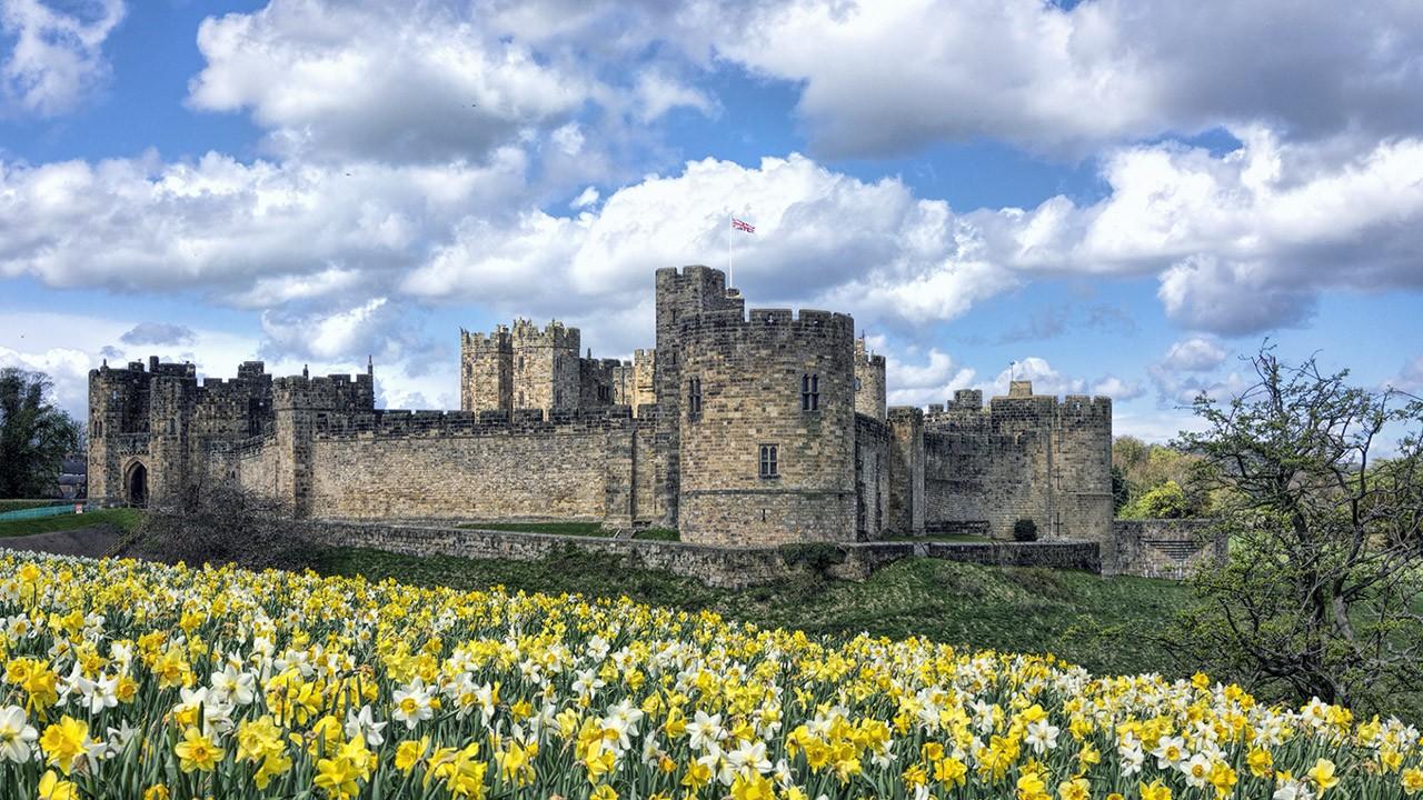Весна в Шотландии