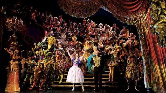 Знаменитый мюзикл Призрак оперы в театре на Бродвее