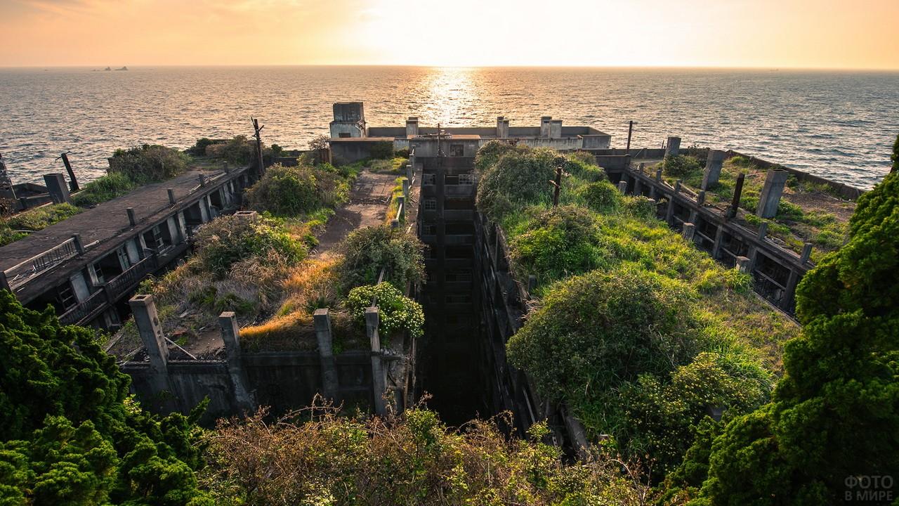 Город-призрак острова Хасима