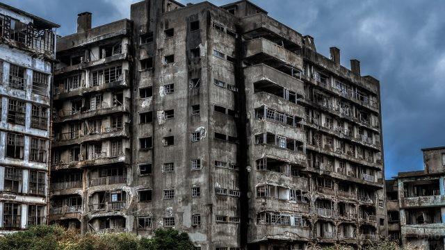 Заброшенный город в Югославии