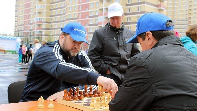 Шахматный турнир в День строителя