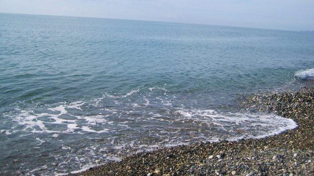 Спокойная набережная Чёрного моря