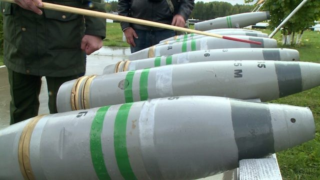 Ликвидация российских химических боеприпасов