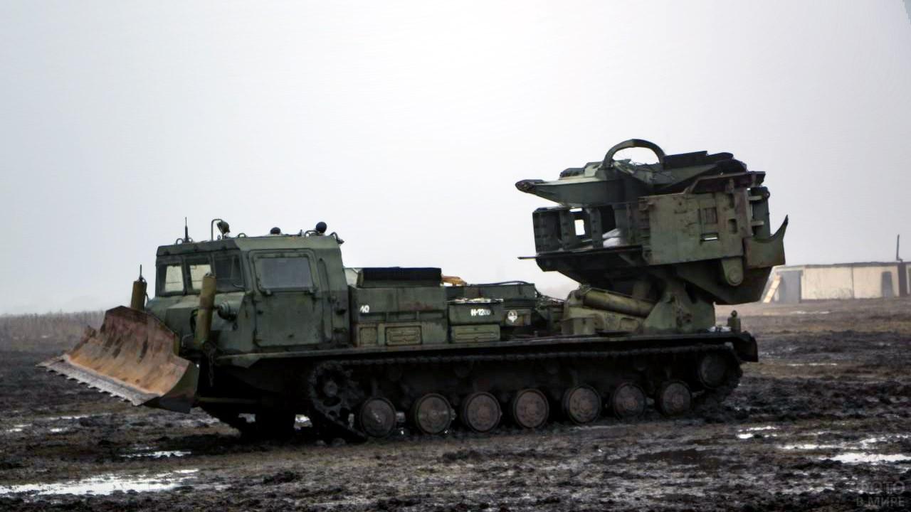 Полевая лаборатория войск РХБ защиты