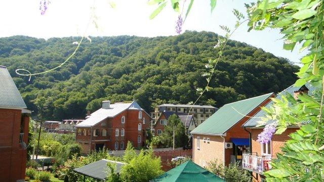 Цветущий посёлок Ольгинка