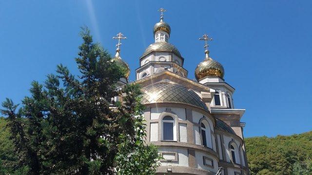 Купола Храма святой Ольги