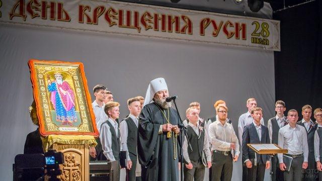 Открытие ежегодного праздничного концерта духовной музыки