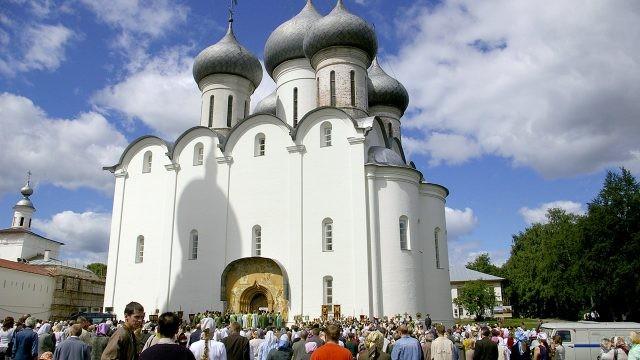 Зрители православного фестиваля