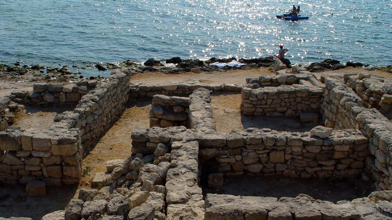 Древнегреческое поселение Городище Калос-Лимен