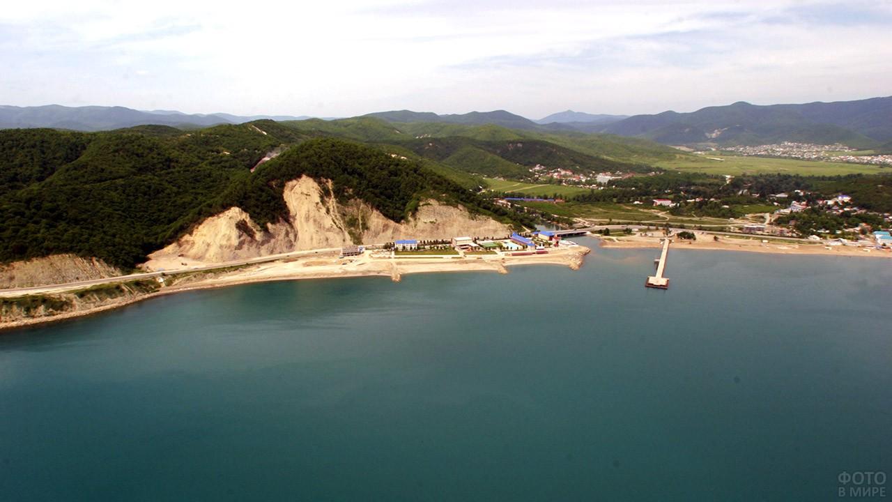 Панорама Тенгинской бухты