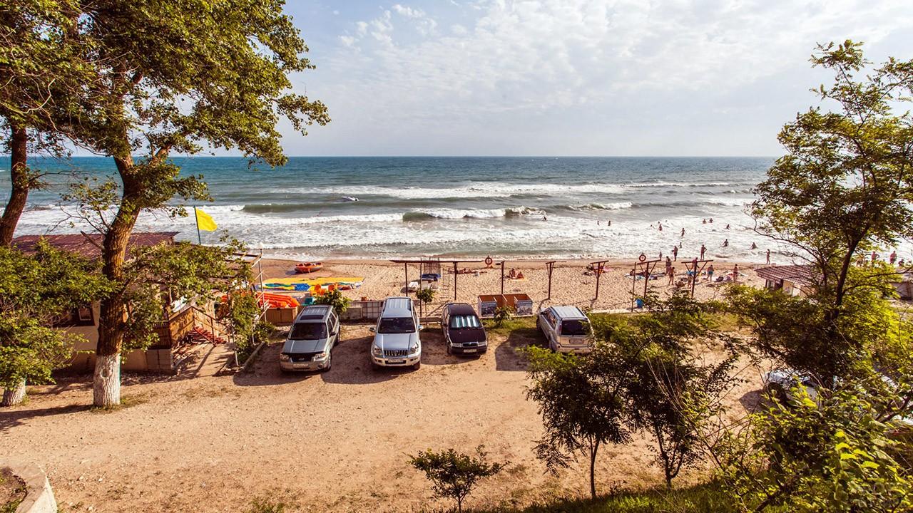 Парковка Золотого пляжа