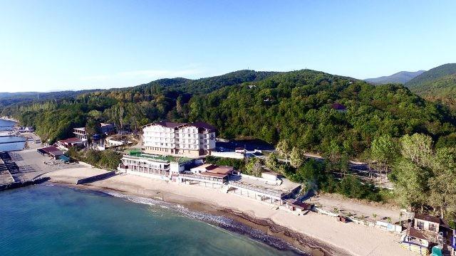 Роскошный отель в бухте Тенгинская