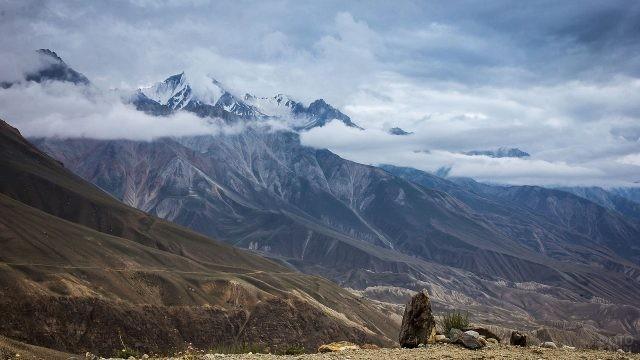 Прекрасный высокогорный пейзаж