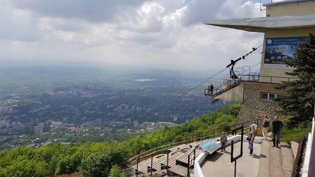 Смотровая площадка на Воробьёвых горах
