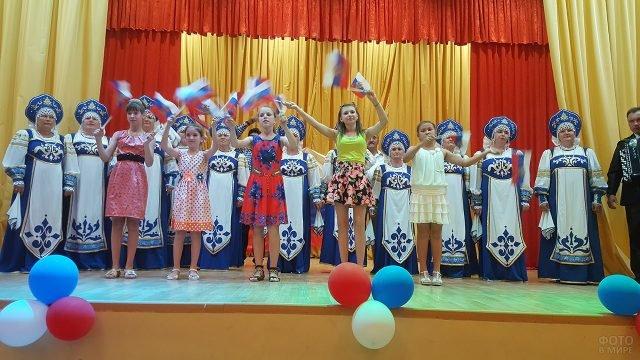 Концерт в честь Дня России в Астраханской области
