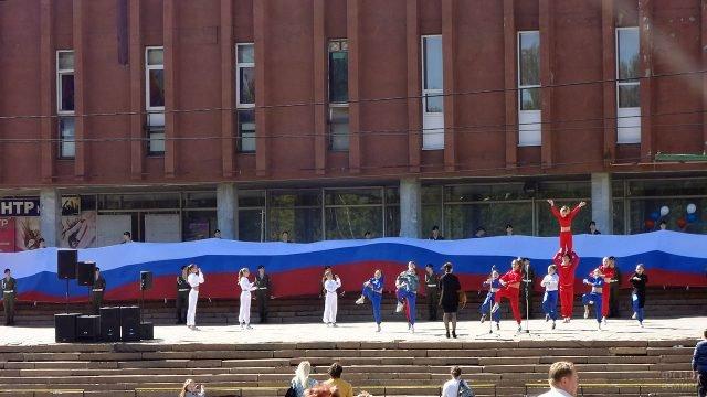Праздничный концерт в честь Дня России в Ижевске