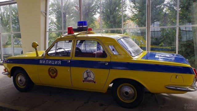 Патрульная модификация Волги ГАЗ-24