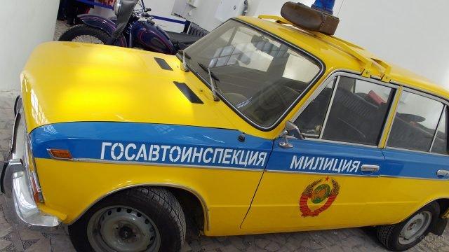 Советский патрульный автомобиль Госавтоинспекции