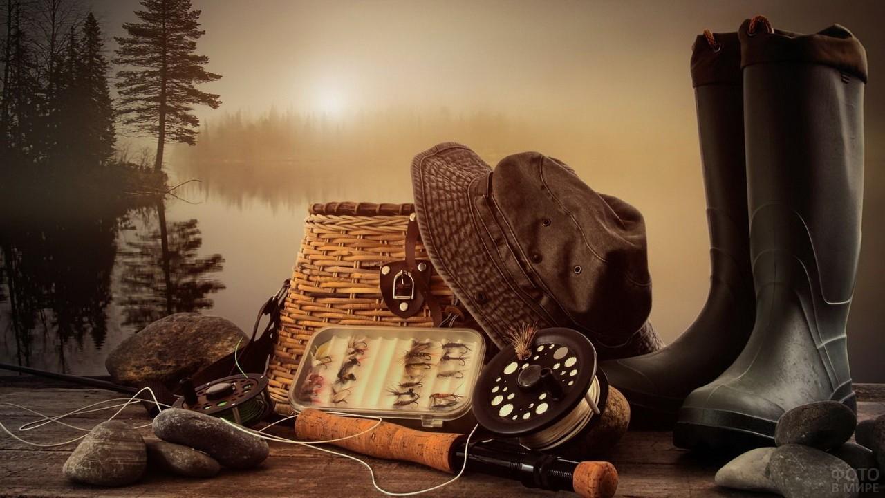 Натюрморт рыбака
