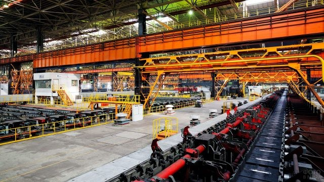 Современный Челябинский металлургический завод