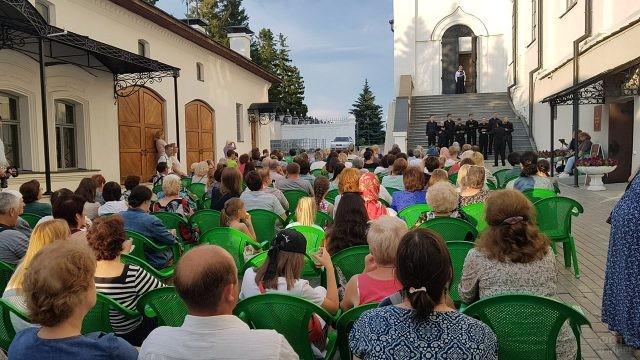 Концерт в День семьи, любви и верности у стен Казанского кремля