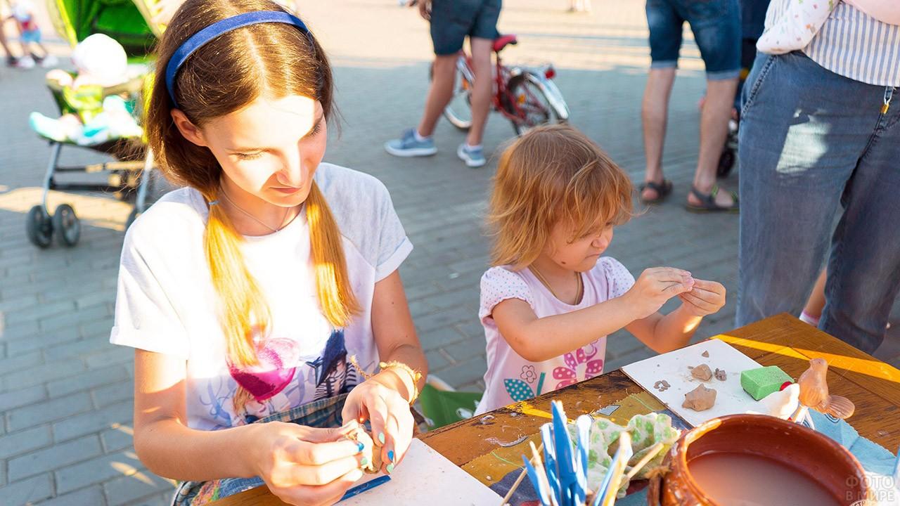 Мастер-класс в День семьи, любви и верности в Астрахани