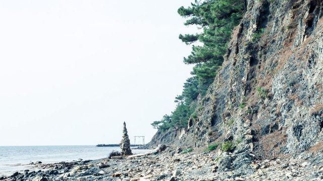 Пляж на мысе Чуговкопас