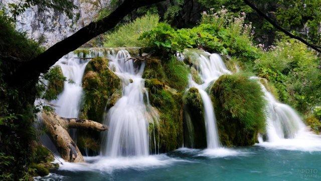 Долина 33 водопада в ущелье Джегош