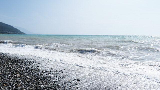 Морской прибой в Цандрипше