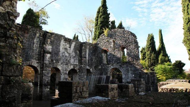 Руины Хашупской крепости