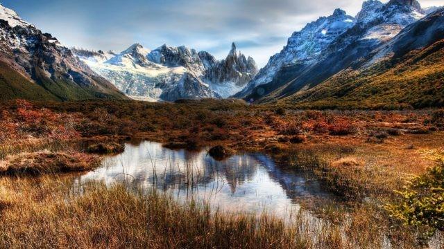 Пёстрые краски горной природы